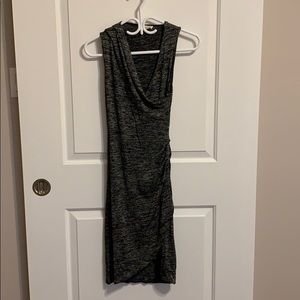 Black/ grey soft dress - aritzia - never worn